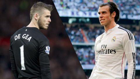Real muốn dùng Bale dụ Man United nhả De Gea