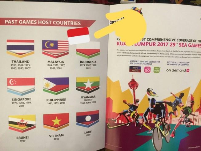 Hàng loạt Website của nước chủ nhà SEA Games 29 bị hack vì …in nhầm cờ