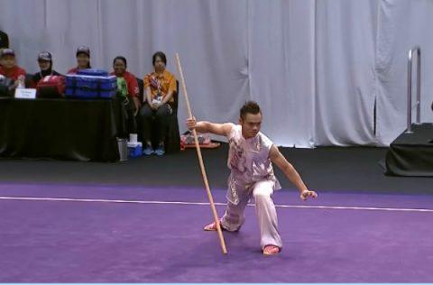 Phạm Quốc Khánh mang về cho Thể thao Việt Nam tấm HCB môn Wushu