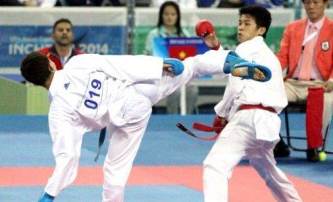 Karatedo liên tiếp đánh ra vàng trước các đối thủ Thái Lan