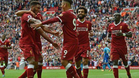 Hàng công thăng hoa, Liverpool nghiền nát Arsenal trong trận cầu Super Sunday