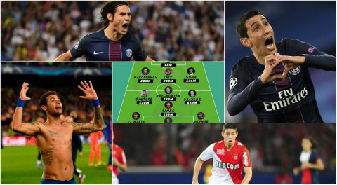 PSG áp đảo hoàn toàn trong đội hình đắt giá nhất lịch sử Ligue 1