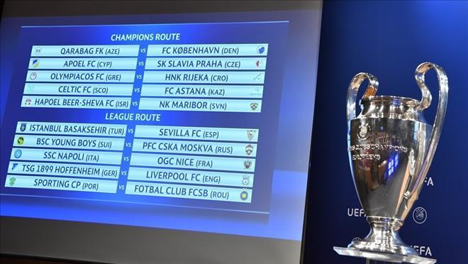 Bốc thăm play-off Champions League: Liverpool và Napoli gặp khó