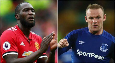 Đội hình tiêu biểu vòng 1 NHA: Rooney – Lukaku chào sân ngoạn mục