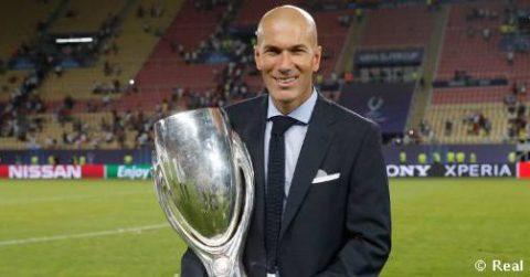 Đoạt Siêu cúp châu Âu, Zidane chính thức lọt Top 4 HLV xuất sắc nhất lịch sử Real