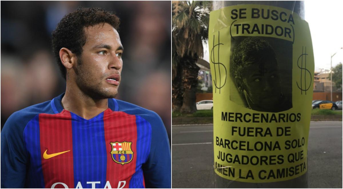 CĐV Barca tức giận, gọi Neymar là kẻ phản bội