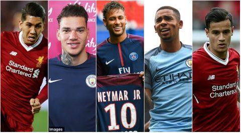 TOP 5 cầu thủ Brazil đáng xem nhất ở mùa giải năm nay