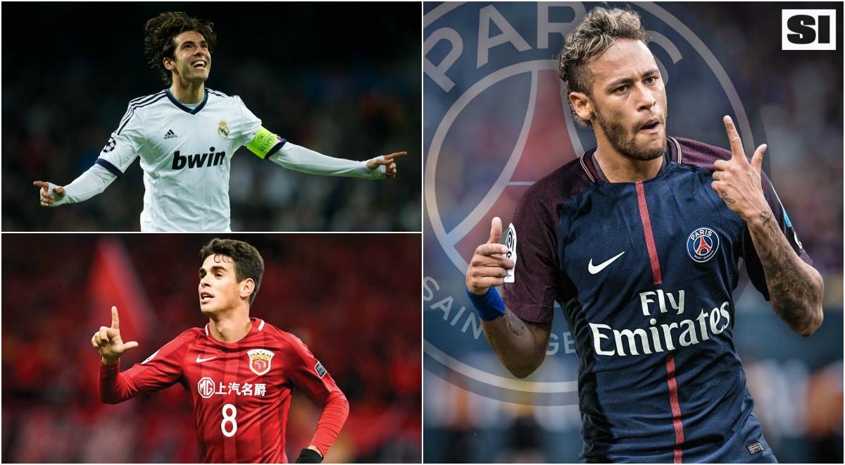 Neymar và Top 10 cầu thủ Brazil đắt giá nhất làng túc cầu