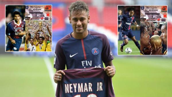 Neymar sang PSG, điềm báo Brazil vô địch World Cup