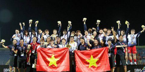 Tuyển nữ Việt Nam đặt mục tiêu dự World Cup sau tấm HCV SEA Games 29