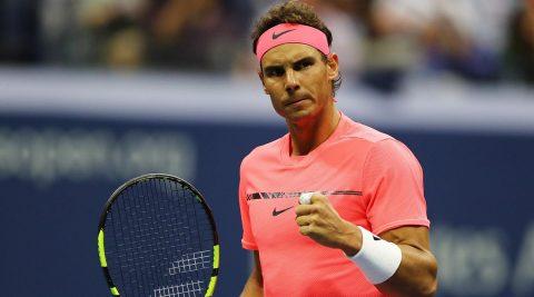 Vượt khó khăn từ khán đài, Nadal tiến vào vòng 2 US Open 2017