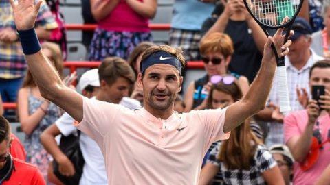 Xuất sắc đánh bại Bautista Agut, Federer tiến thằng vào bán kết Roger Cup