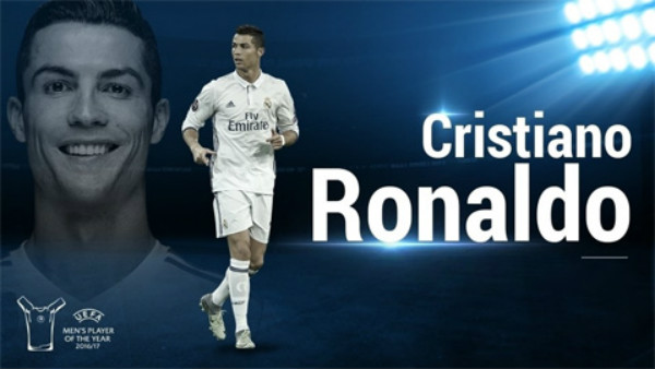 ƯCV cầu thủ hay nhất UEFA 2017 – Cristiano Ronaldo