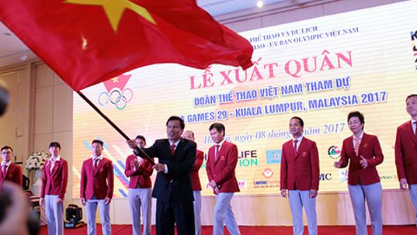 Đoàn Thể thao Việt Nam đặt chỉ tiêu 59 HCV tại SEA Games 29