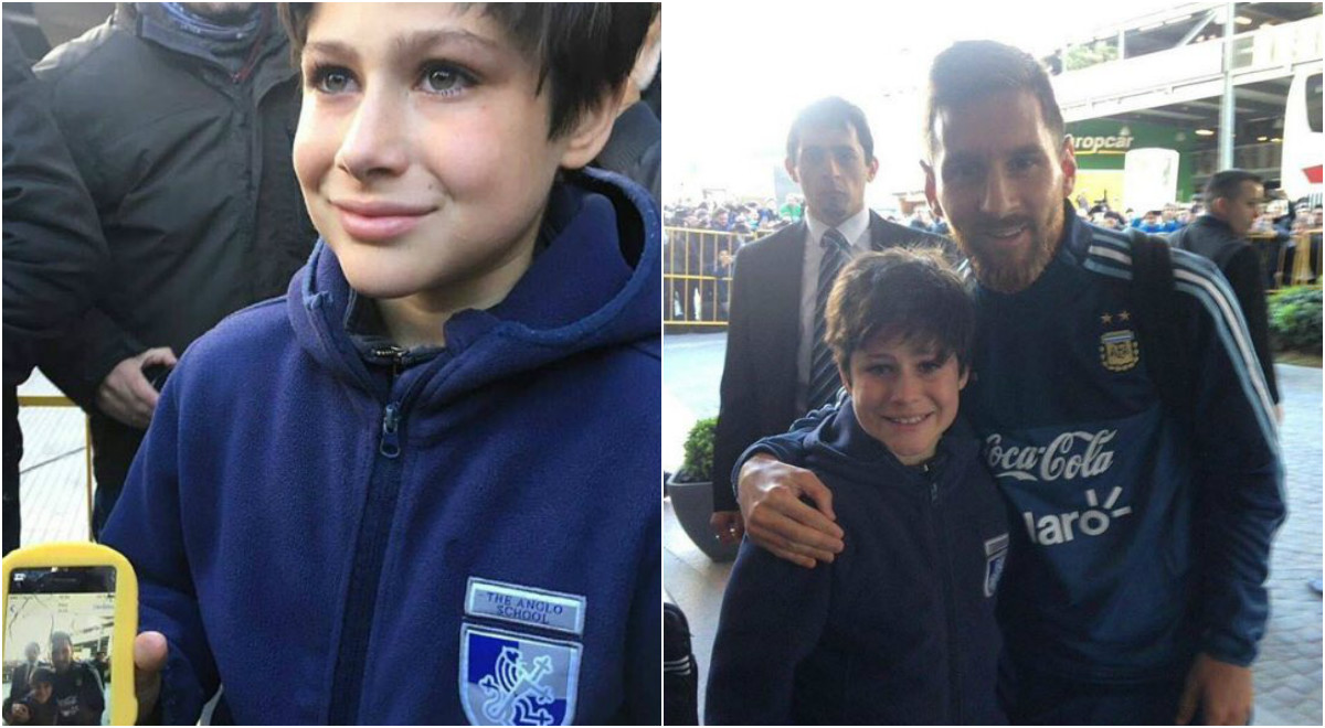 Lionel Messi lại đốn tim fan với hành động cực đẹp trước 'đại chiến' Uruguay
