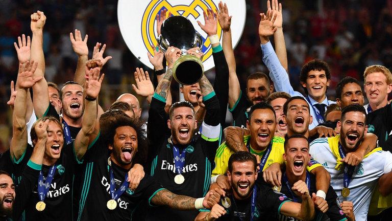 Dễ dàng khuất phục quỷ đỏ M.U, Real lần thứ 4 đăng quang ở Siêu cúp châu Âu