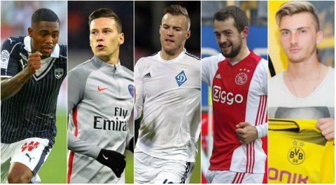 Điểm mặt 5 ứng viên hoàn toàn có thể thay thế Dembele tại Dortmund