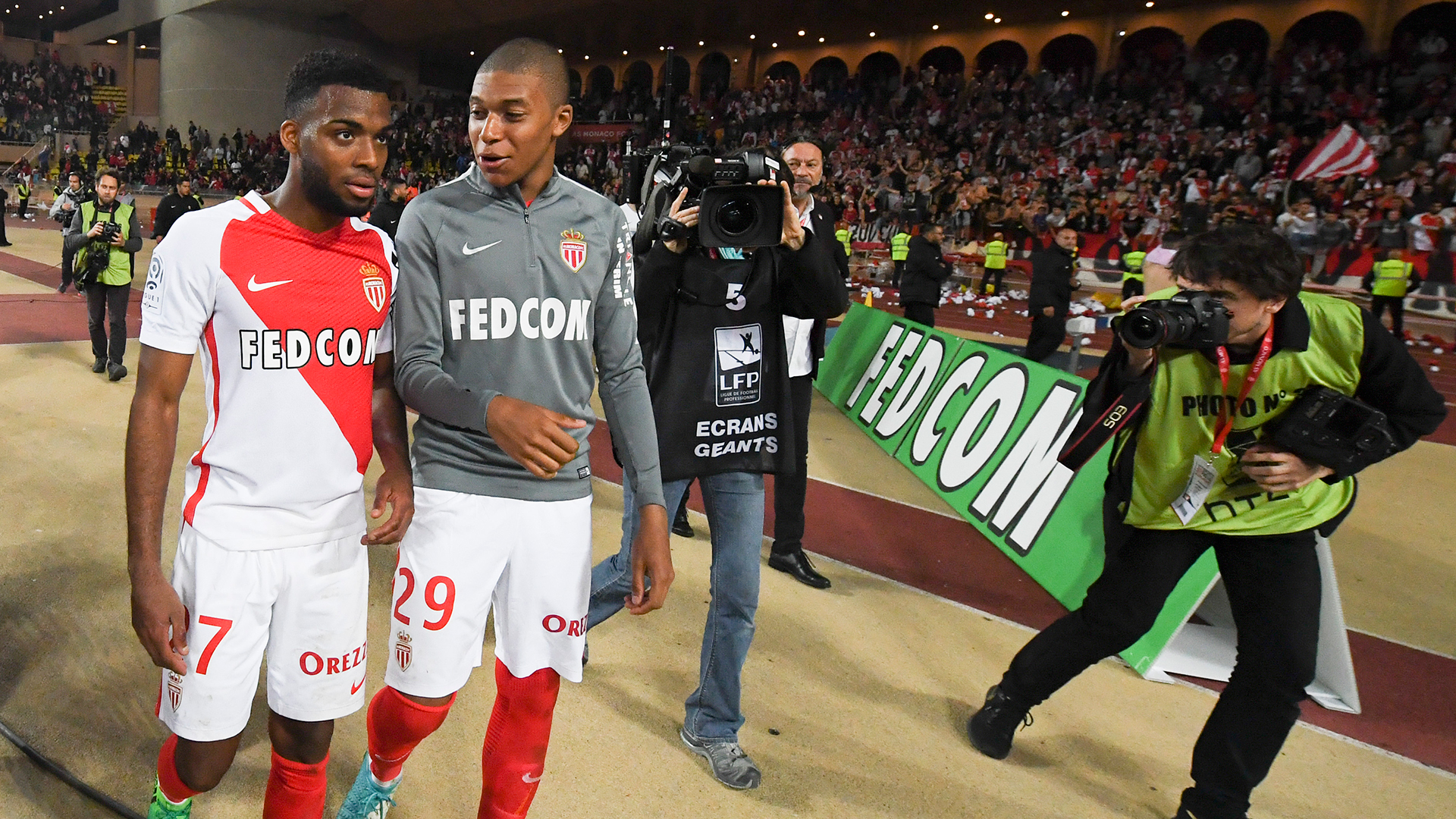 XÁC NHẬN: Mbappe, Lemar là những cầu thủ tiếp theo rời Monaco