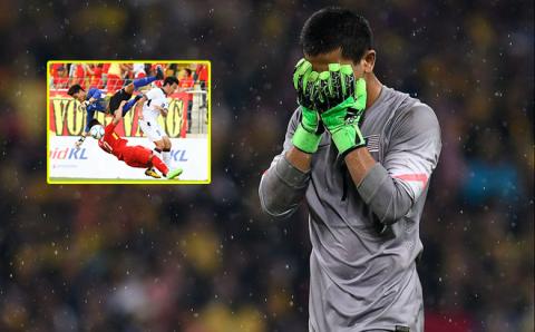 Phản ứng không ngờ của CĐV Malaysia với thủ môn 'tội đồ': Thương quá, Phí Minh Long!