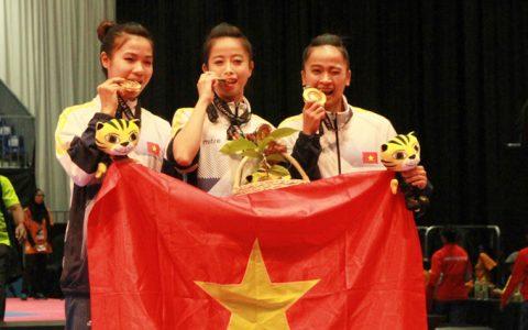 Bảng tổng sắp huy chương SEA Games 29 (ngày 27/8): Chờ Taekwondo gặt vàng