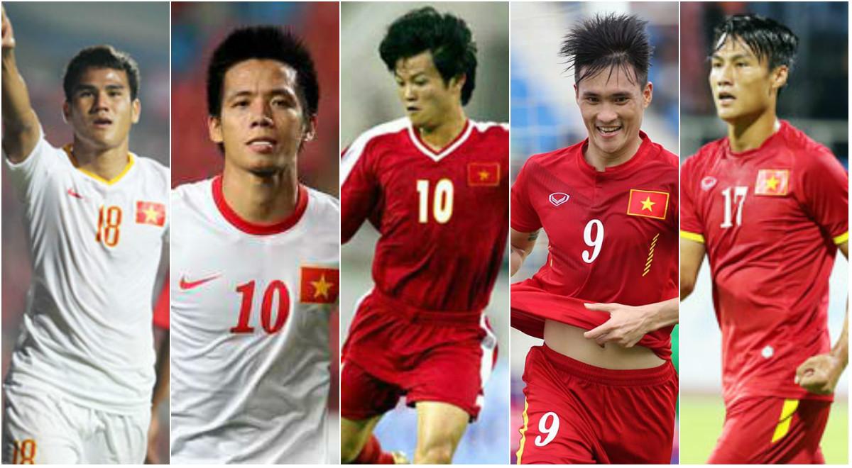 5 chân sút tốt nhất của U23 Việt Nam tại các kì SEA Games: Công Vinh chưa phải số 1