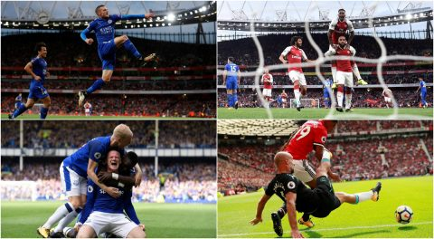 Vòng 1 Ngoại hạng Anh và những hình ảnh ấn tượng nhất