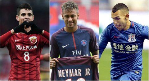 10 cầu thủ hưởng lương cao nhất thế giới: Neymar chưa phải là số 1
