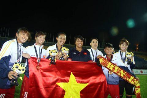 Tuyển nữ Vô địch SEA Games, NHM kêu gọi sự công bằng cho thầy trò HLV Mai Đức Chung