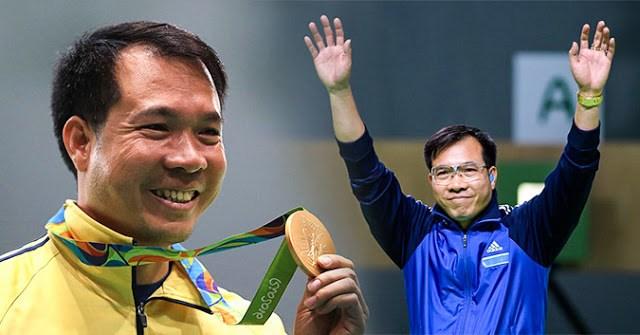 Hoàng Xuân Vinh và TOP 8 VĐV sáng nhất SEA Games 29