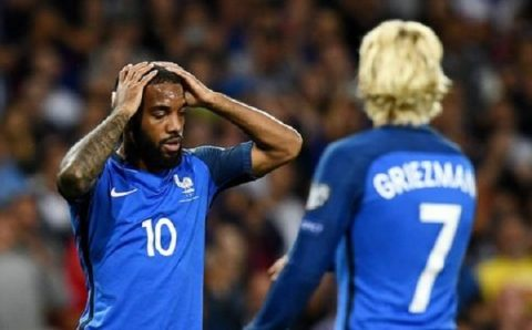 """Hàng công dứt điểm siêu tệ hại, Pháp để """"tí hon"""" Luxembourg làm nên cơn địa chấn ngay trên sân nhà"""