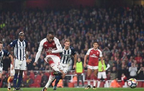 Bom tấn Lacazette lập kỳ tích ghi bàn, Arsenal hạ đẹp West Brom để tiệm cận Top 4