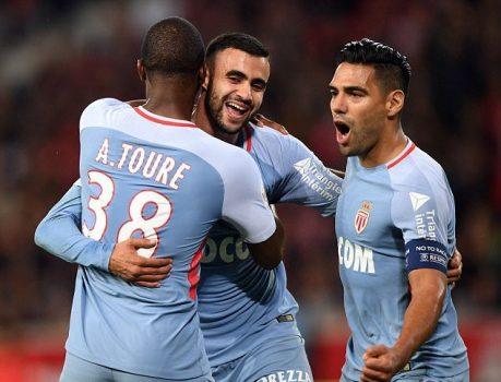 """""""Mãnh hổ"""" Falcao tiếp tục tỏa sáng như 1 vị thần, ĐKVĐ Monaco hủy diệt Lille ngay trên sân đối thủ"""
