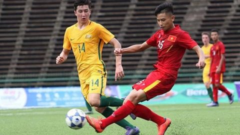 Thua Australia, U16 Việt Nam vẫn chính thức giành vé dự VCK U16 châu Á