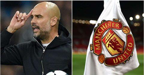 """Cả gan móc máy Man Utd trên truyền hình, Pep Guardiola bị CĐV Quỷ đỏ mắng là """"kẻ gian xảo"""""""
