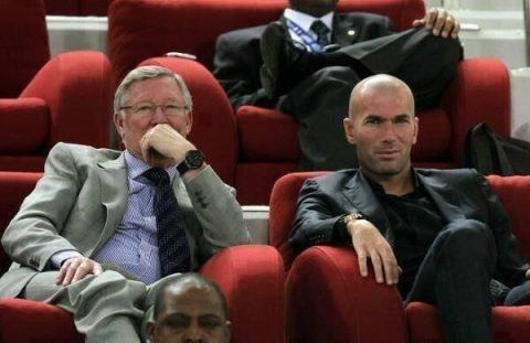 Tiết lộ sốc: Sir Alex Ferguson từng từ chối cơ hội đưa Zidane về M.U