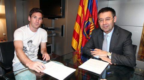 """NÓNG: Messi đã """"chốt ngầm"""" tương lai với Barca mặc dù chưa có thông báo chính thức về việc ký hợp đồng"""