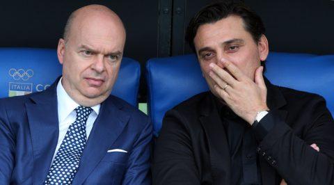 Để thua bạc nhược, CEO Milan lên tiếng cảnh báo Montella