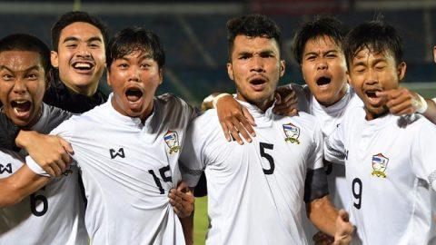 Chơi thiếu người từ sớm, U18 Thái Lan vẫn ngạo nghễ đánh bại Malaysia để lên ngôi giải U18 ĐNÁ 2017