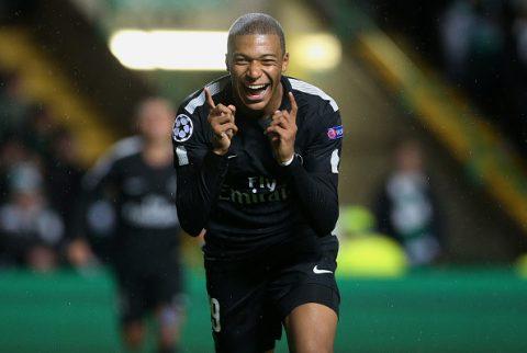 """Phá lưới Celtic, """"siêu bom tấn"""" Mbappe tiếp tục lập kỷ lục cho PSG tại Champions League"""