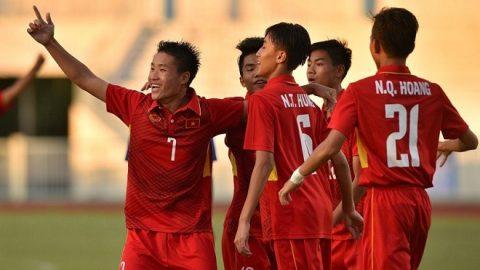 Chơi thiếu người từ sớm, U16 Việt Nam vẫn đè bẹp Campuchia ở trận mở màn vòng loại U16 châu Á