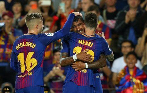 Siêu nhân Messi chói sáng thần thánh với cú poker, Barca chôn vùi Eibar trên sân nhà
