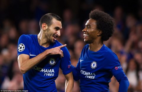VIDEO: Chelsea 6-0 Qarabag (Bang C – Champions League 2017/18)