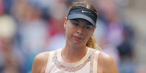 """""""Búp bê Nga"""" Sharapova ngậm ngùi dừng bước ở vòng 4 Mỹ mở rộng 2017"""