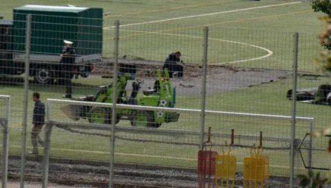 SỐC: Phát hiện nửa tạ bom tại sân tập của đội bóng Đức