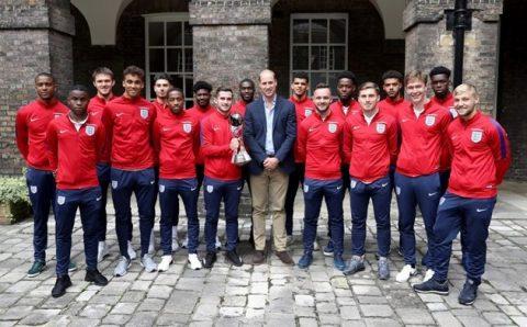 Vô địch U20 World Cup, dàn sao U20 Anh vinh dự diện kiến hoàng tử William