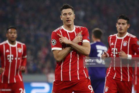 Thi đấu hơn người, Bayern dễ dàng đánh bại Anderlecht ngay tại thánh địa Allianz Arena