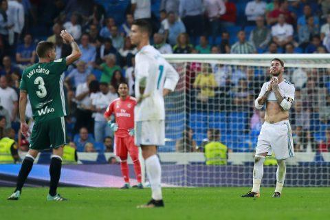 Real Madrid tiếp tục nhận hung tin sau trận thua muối trước mặt trước Betis