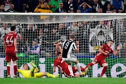 Vào sân từ băng ghế dự bị, Higuain hóa người hùng đem về chiến thắng khó nhọc cho Juventus trước Olympiakos
