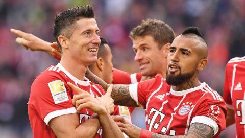 Lewandowski lập cú đúp, Hùm xám Bayern diệt gọn Mainz 05 trên sân nhà