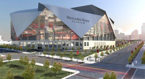 Dạo quanh SVĐ Mercedes Benz – 'Kỳ quan' của thế giới bóng đá